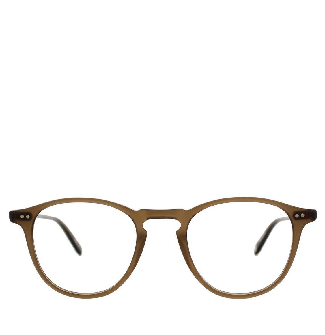 Garrett Leight Square Matte Espresso Acetate Γυαλιά Οράσεως