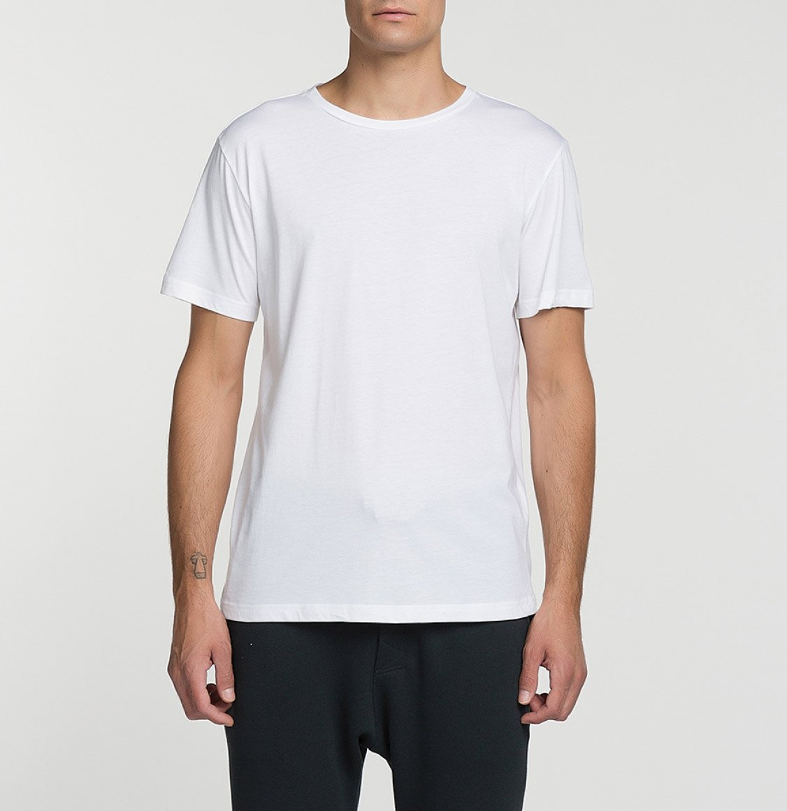 The Project Garments Band V2 Crew Neck T-Shirt White
