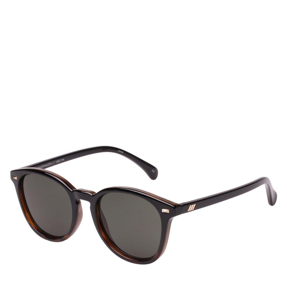 Le Specs Round Black Tortoise Γυαλιά Ηλίου
