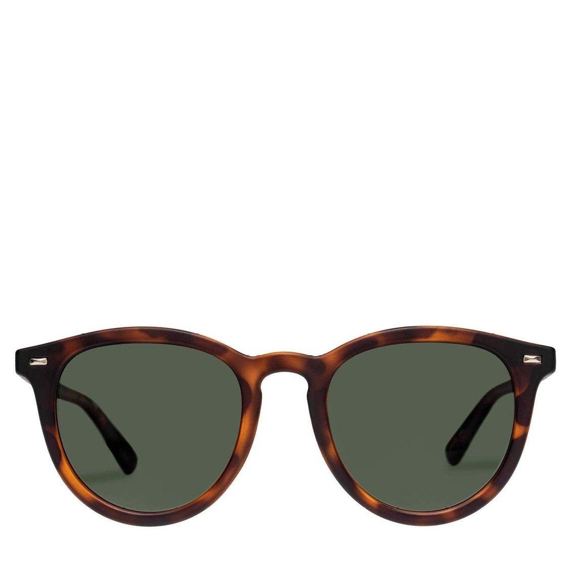 Le Specs Round Matte Tortoise Polarised Γυαλιά Ηλίου