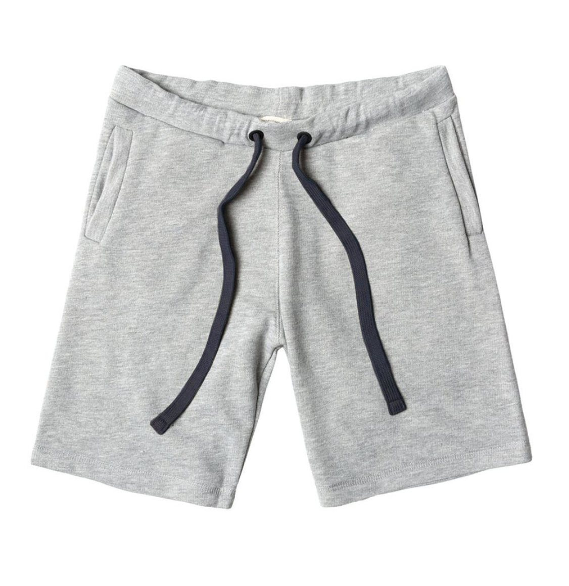 The Project Garments Loopback Cotton Jersey Relaxed Shorts Grey