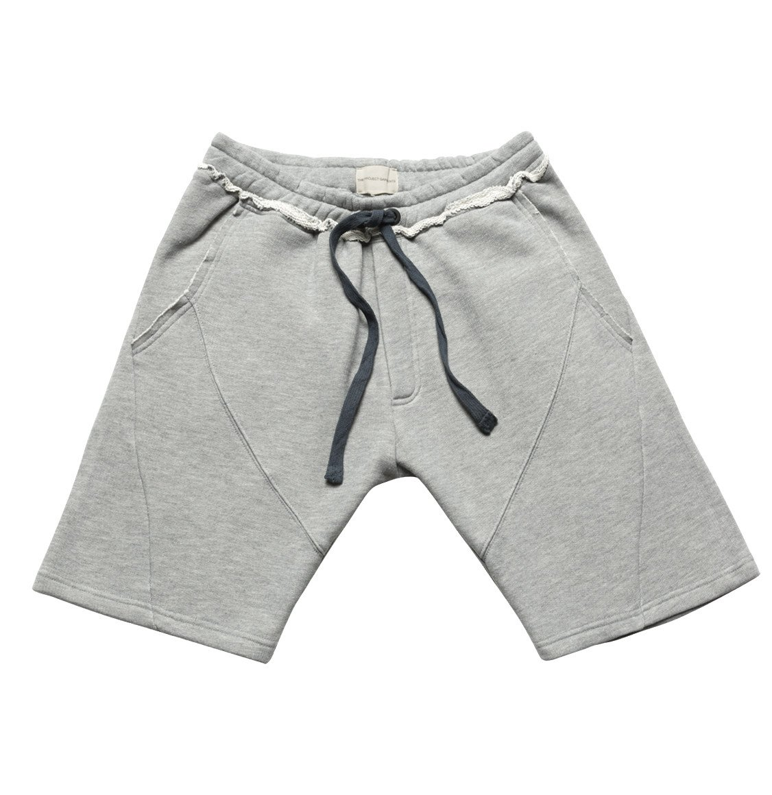 The Project Garments Organic Cotton Jersey Sweatshorts Grey Melange