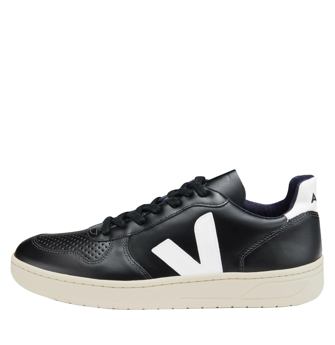 Ανδρικά Veja V-10 Leather Black And White