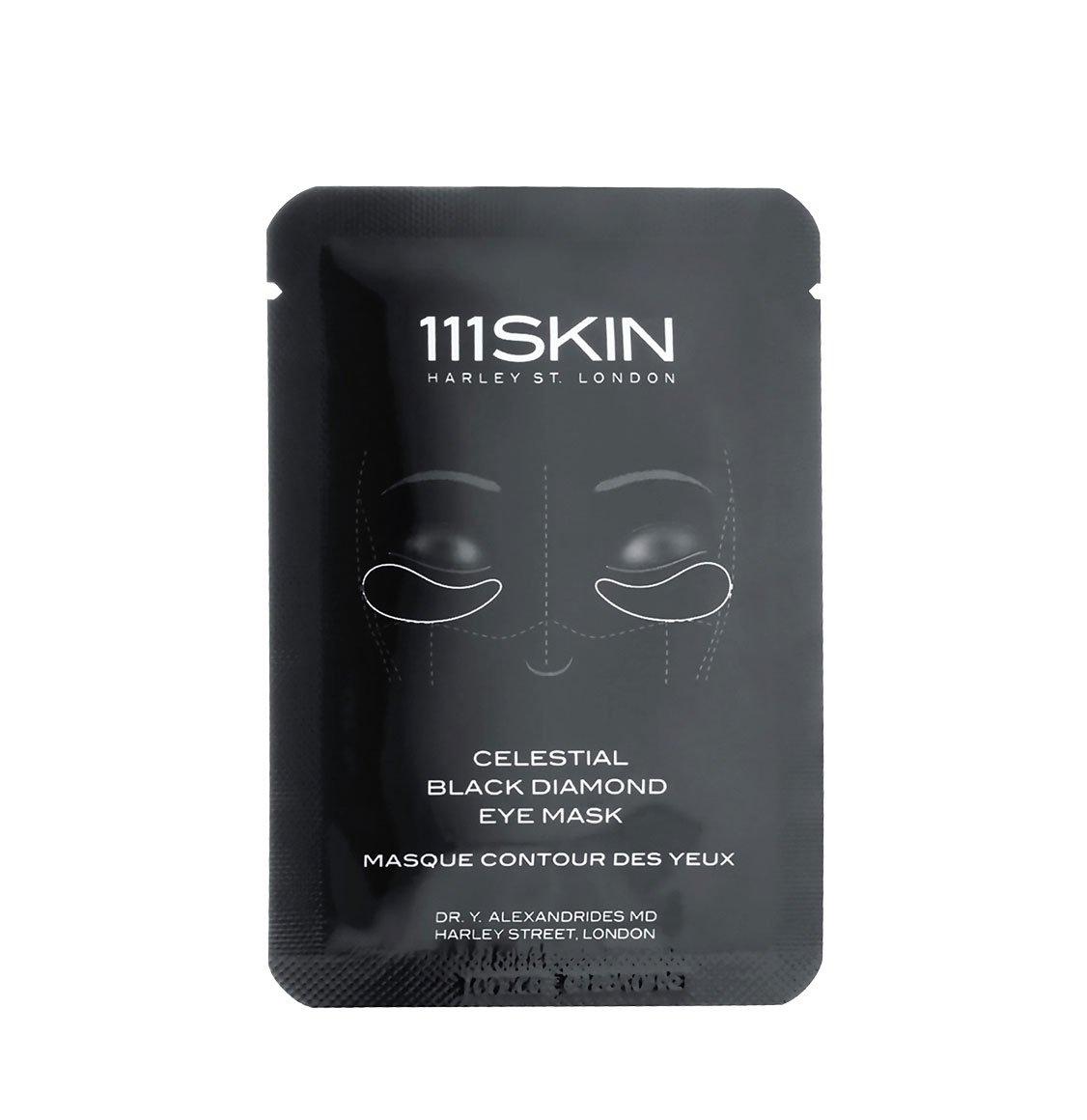 111Skin Celestial Black Diamond Eye Masks Box 8 x 6ml