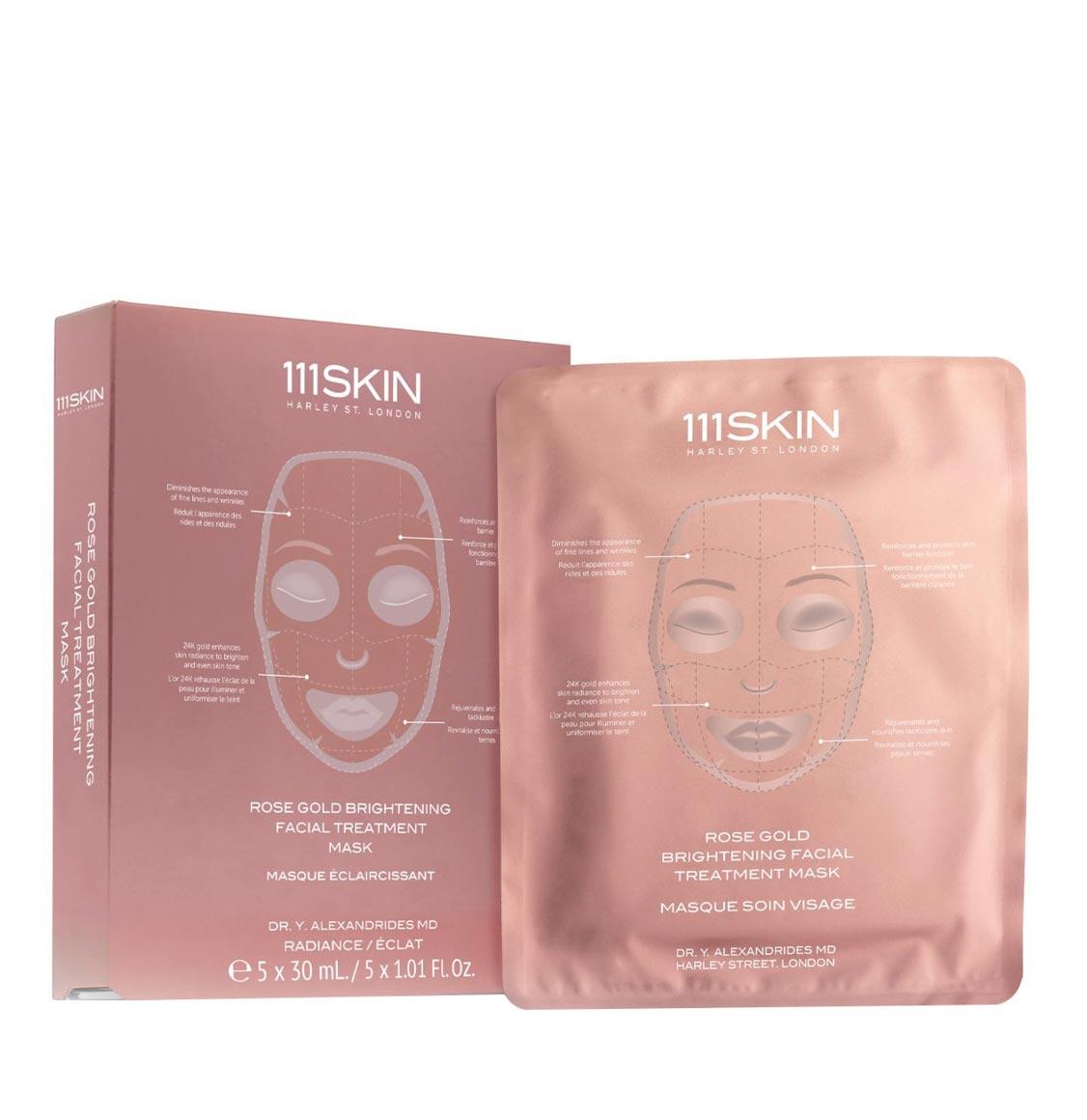 111Skin Rose Gold Brightening Facial Treatment Mask 30ml