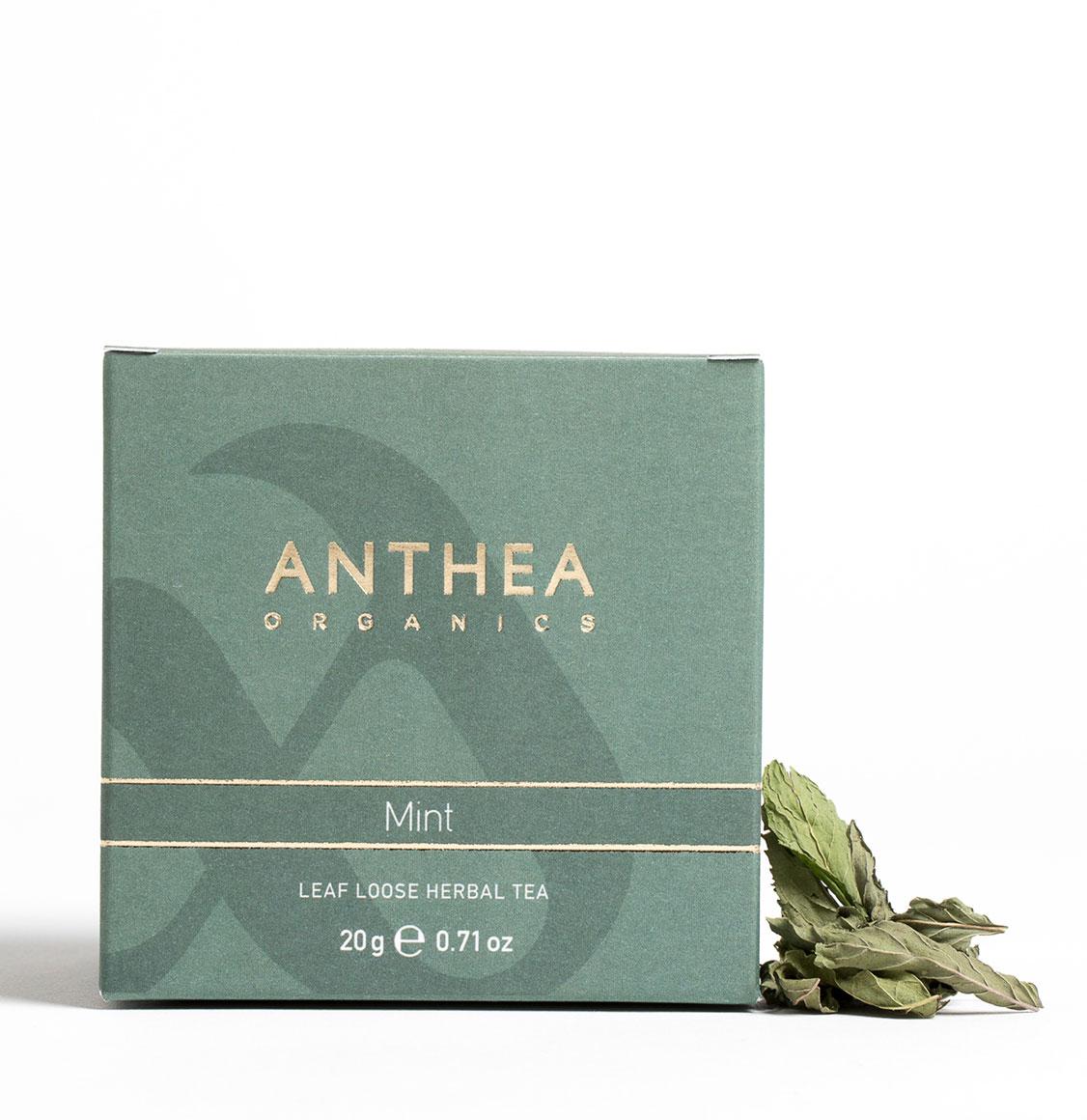 Anthea Organics Βιολογική Μέντα Leaf Loose Mint 20g