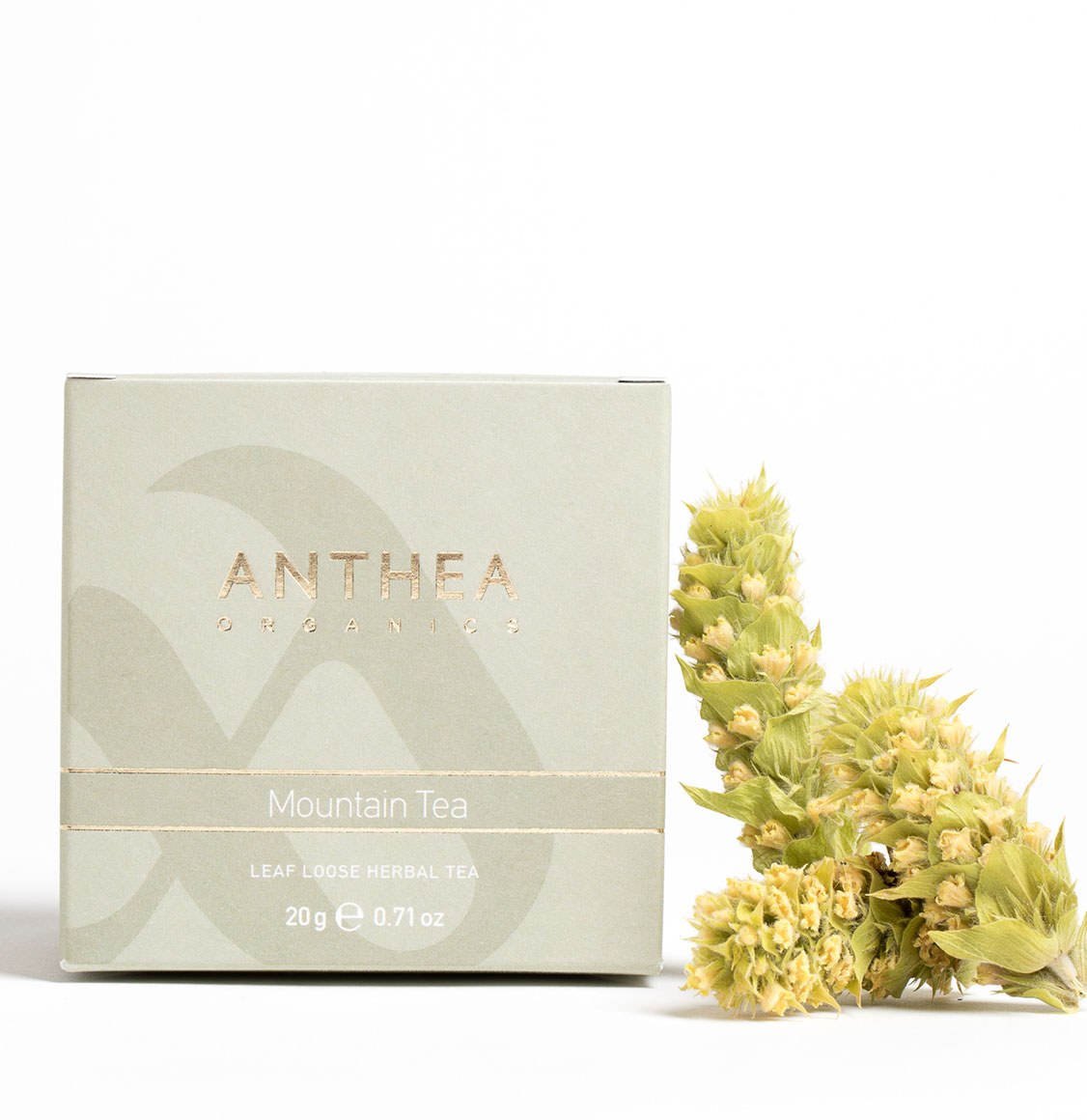 Anthea Organics Βιολογικό Τσάι Του Βουνού Leaf Loose Mountain Tea 20g