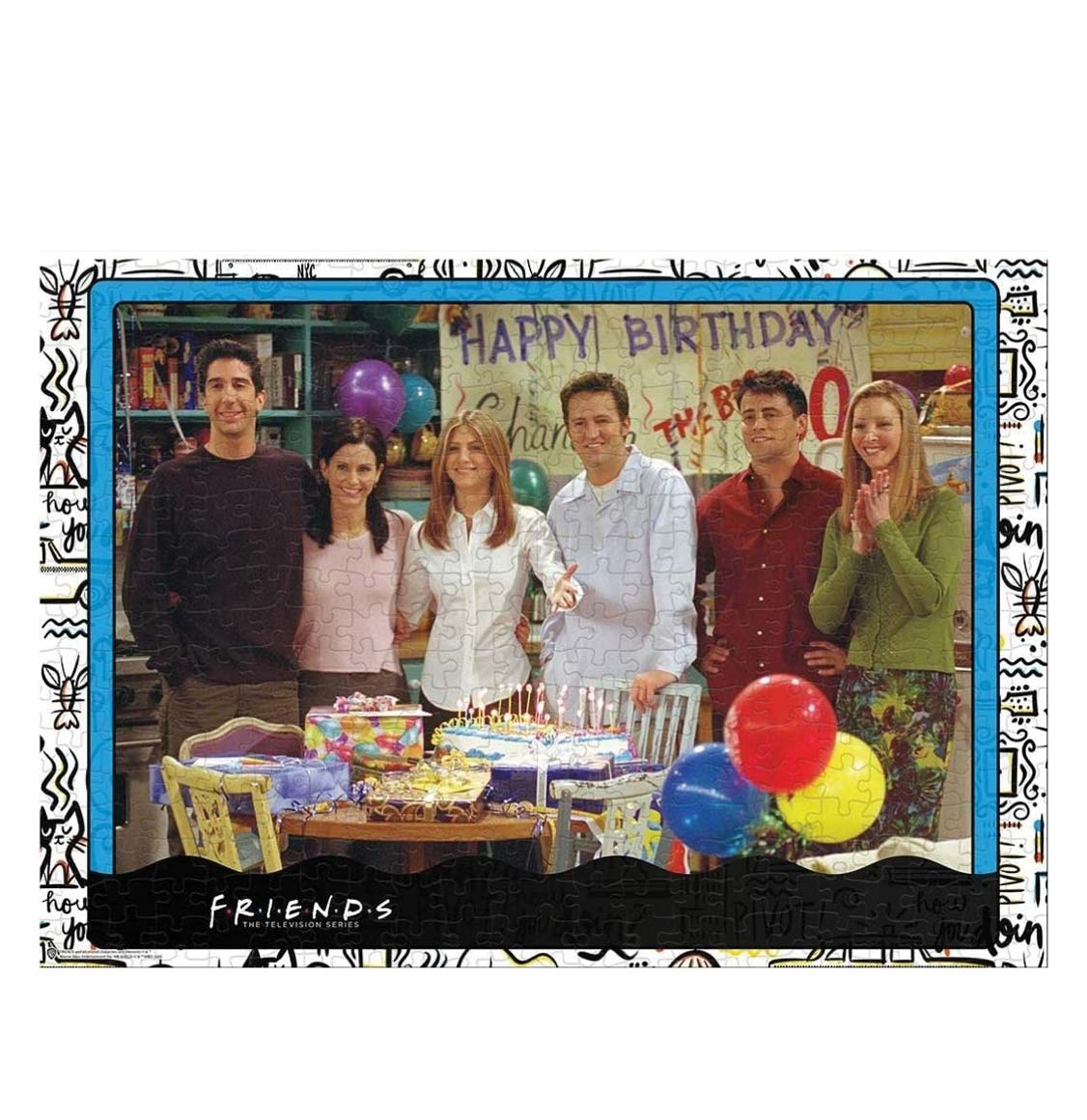 Winning Moves Puzzle Friends The TV Series Birthday 1000 Pieces