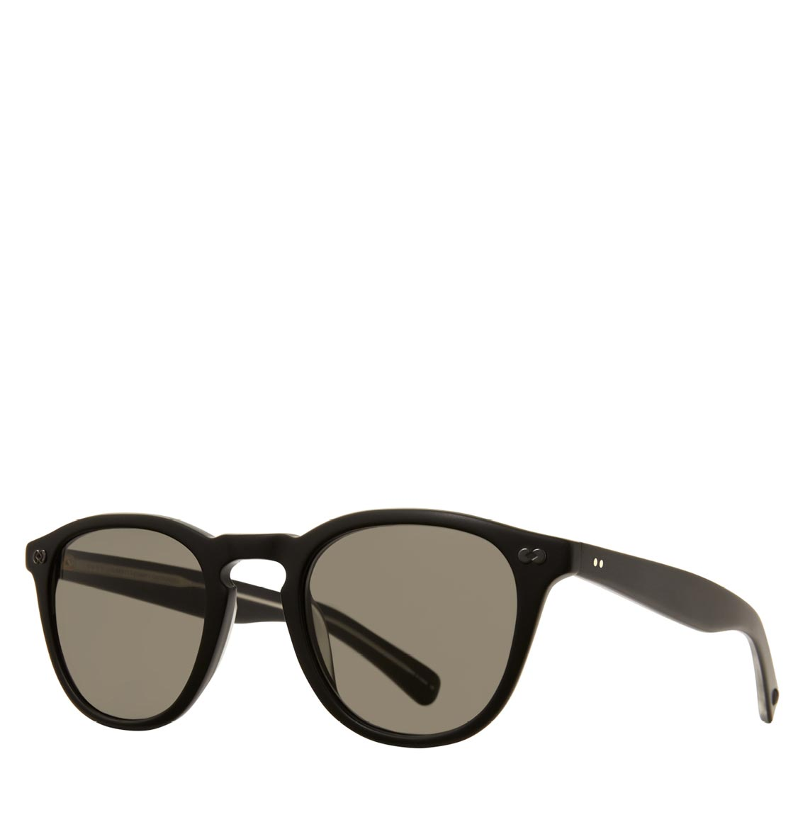 Garrett Leight Square Matte Black Γυαλιά Ηλίου Anniversary Edition