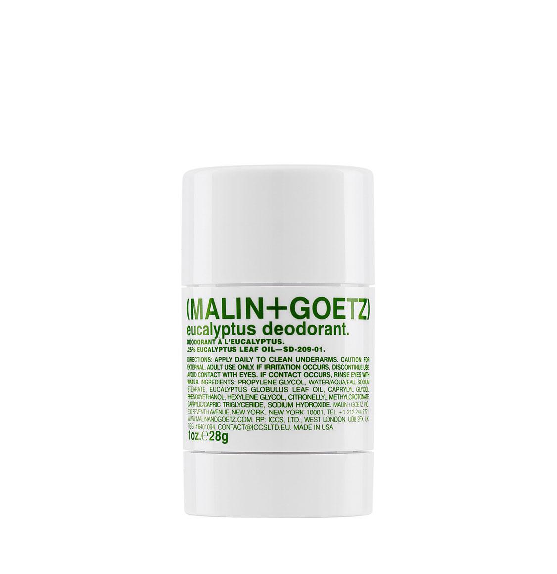 Malin And Goetz Eucalyptus Stick Deodorant Travel Size 28g