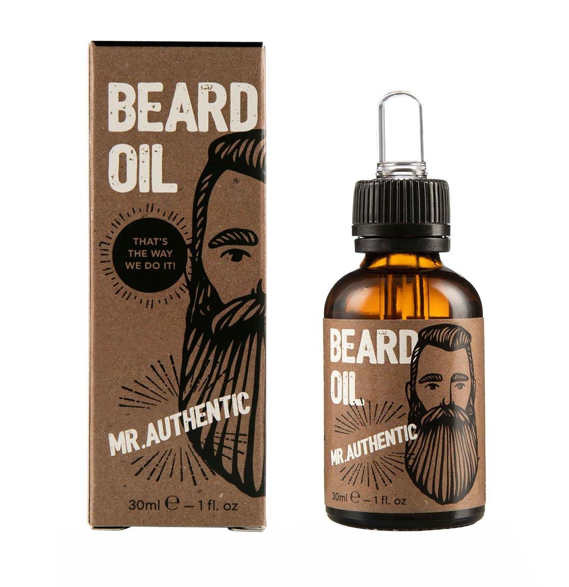 Cosmogent Λάδι Γενειάδας Mr. Authentic Beard Oil 30ml