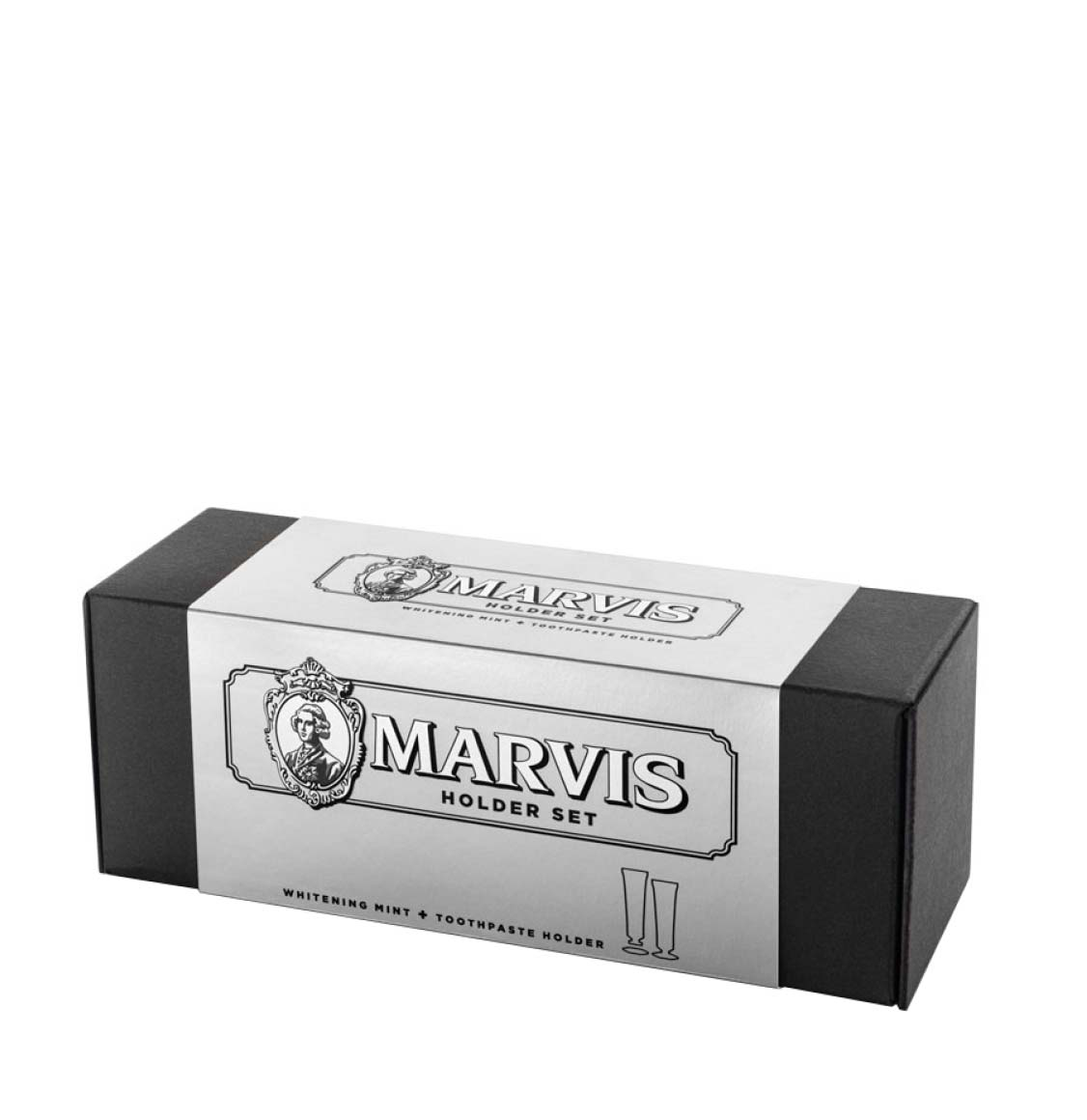 Marvis Whitening Mint Toothpaste and Tube Stand Set