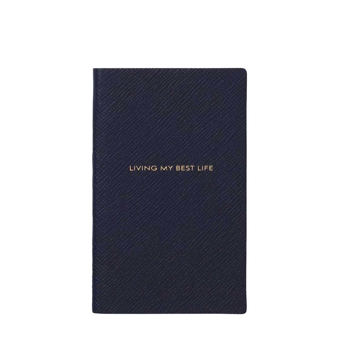 Smythson Living My Best Life Notebook