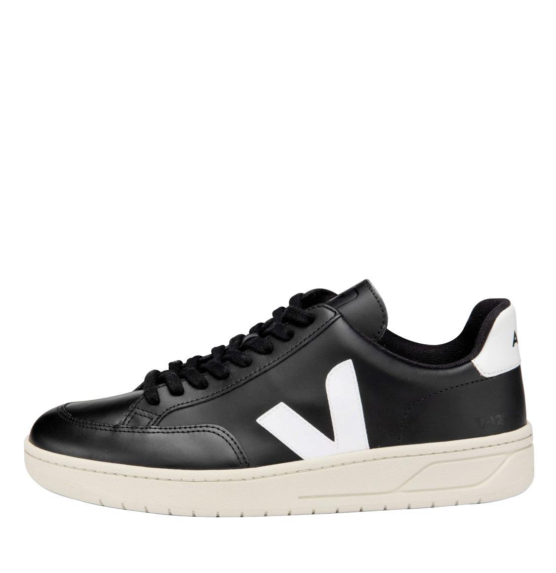 Ανδρικά Veja V-12 Leather Black White