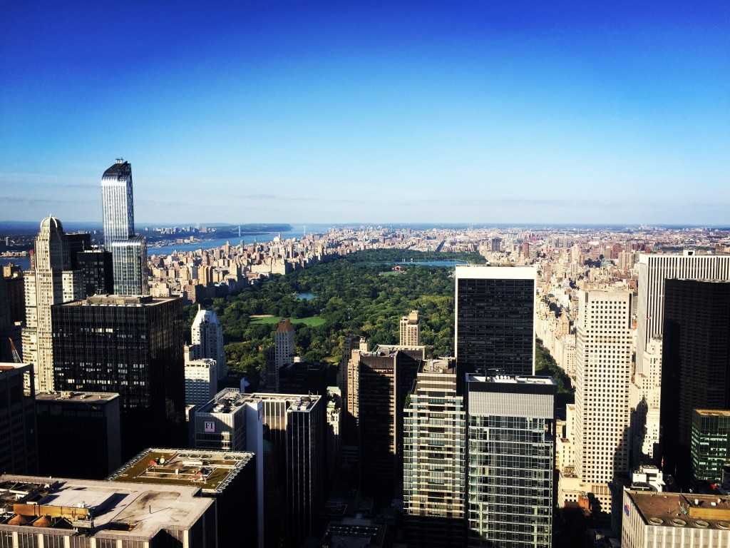 New York from The Top of the Rock - The Project Lifestyle