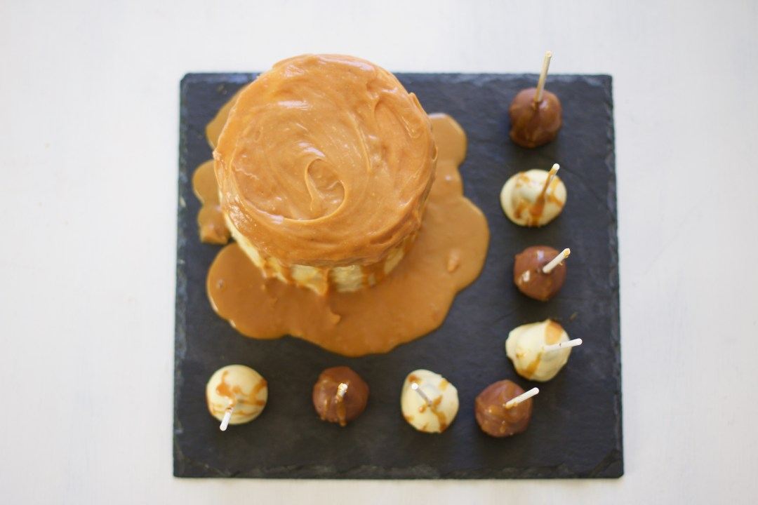 Chocolate Cake with Salted Caramel - The Project Lifestyle