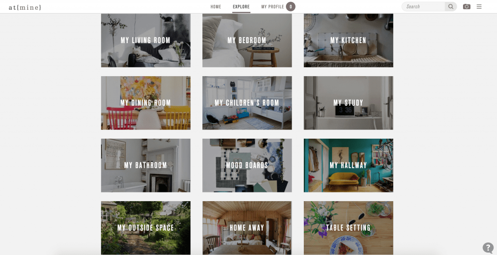Home Inspiration from at{mine} - The Project Lifestyle