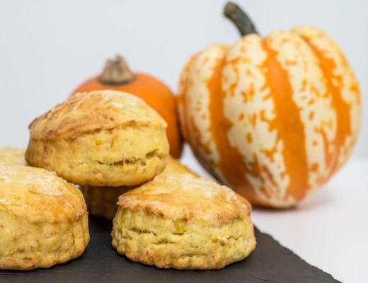Pumpkin and Parmesan Scones - The Project Lifestyle