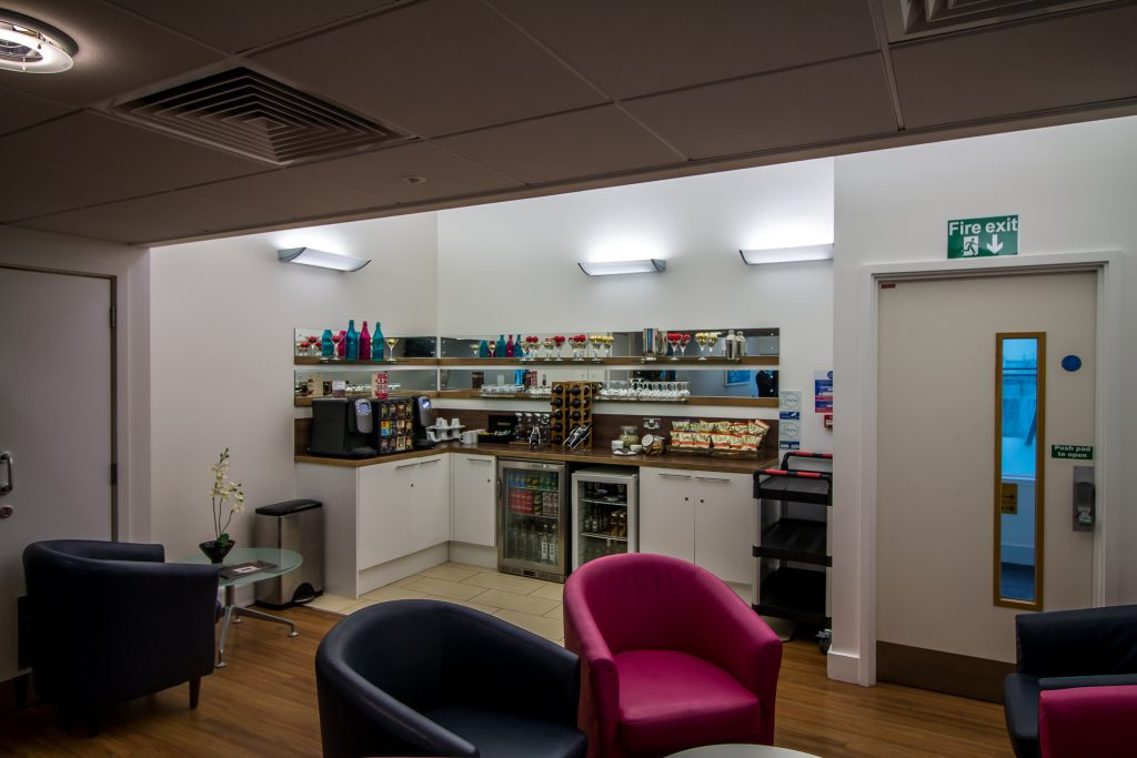Southampton Airport Priority Lounge - The Project Lifestyle