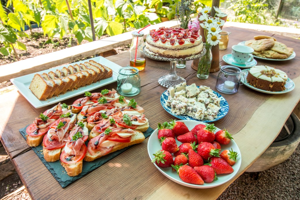 Summer Afternoon Tea - The Project Lifestyle