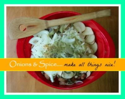 Onions & Spice