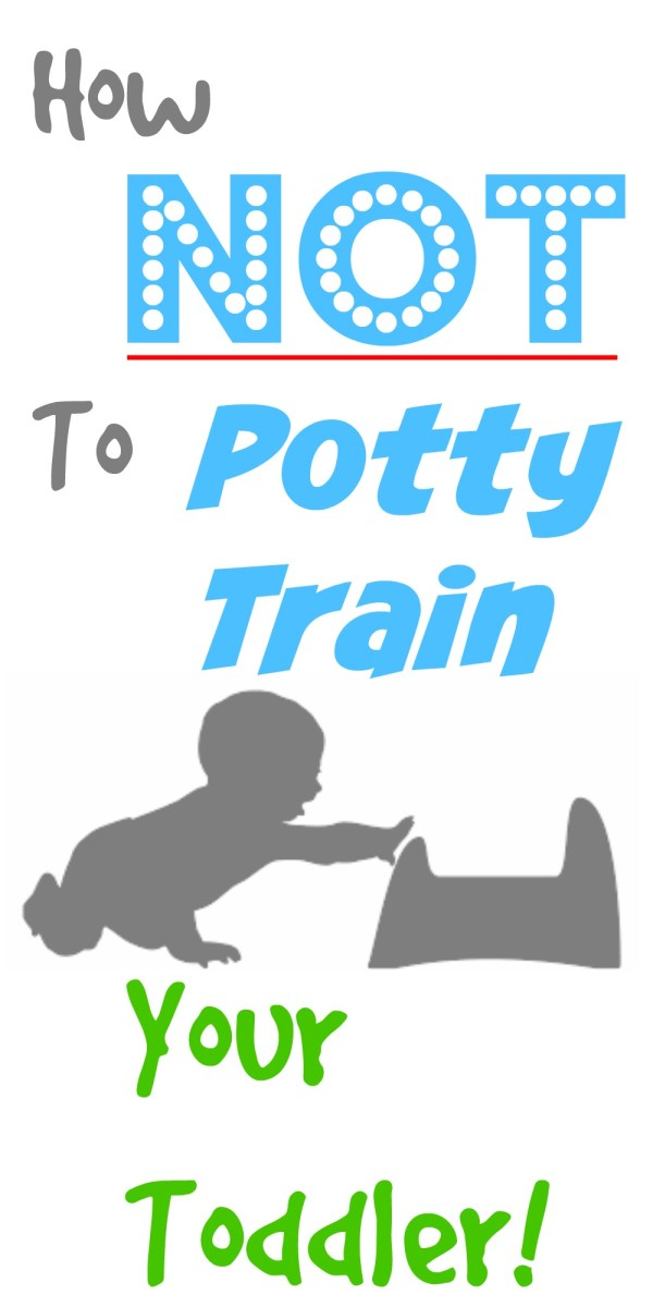 How NOT to  Potty Train your Toddler!