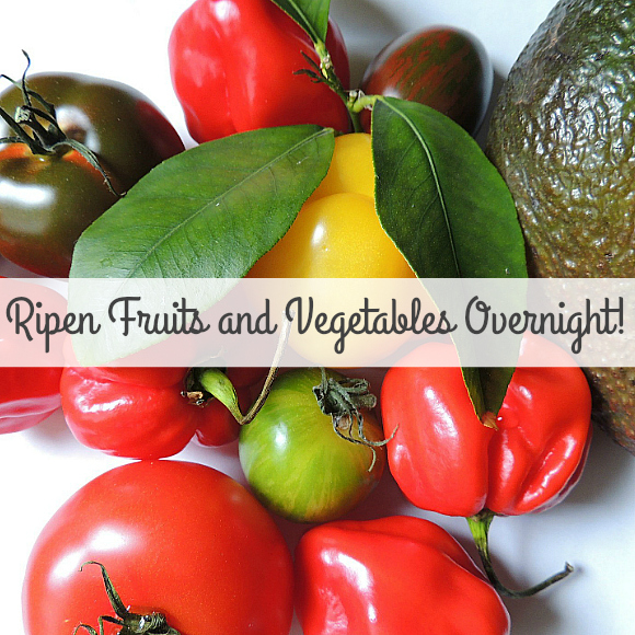 How To Ripen Fruit And Vegetables Overnight!