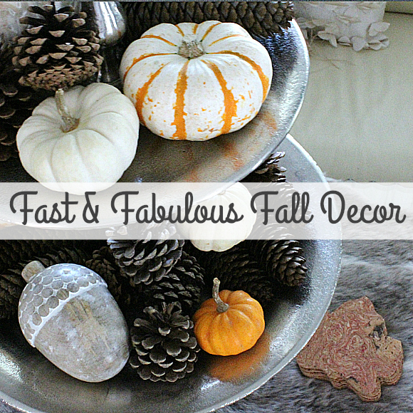Fast and Fabulous Fall Decor!