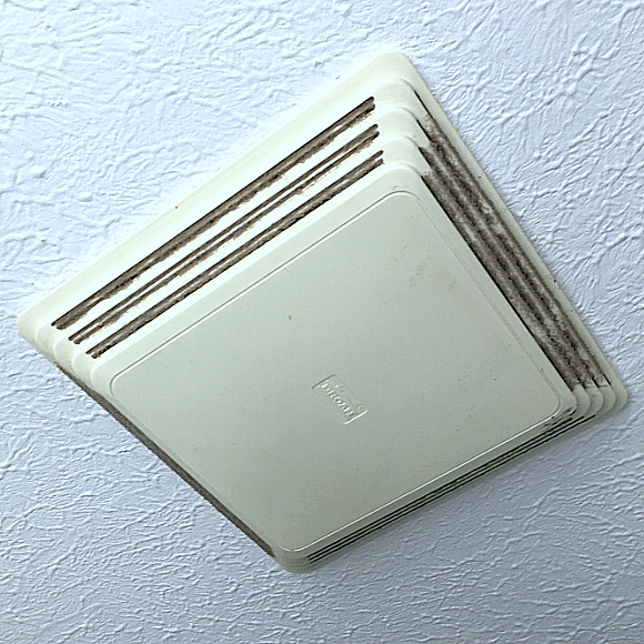 Clean that Old Dusty Bathroom Vent the Easy Way!