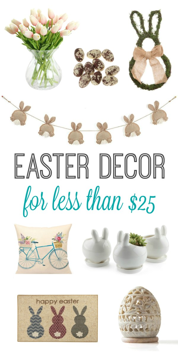 Easter Decor for Less Than $25