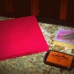 Tut Tuesday: Napkin Stampin'