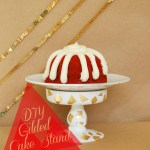 Tut Tuesday: DIY Gilded Cake Stand
