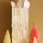 Giftwrap Galore: Tissue Fringe, Reindeer Pom Poms, Downloadable Tags & More