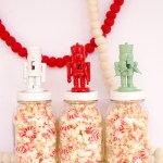 DIY Nutcracker Jar Toppers