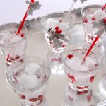 DIY Jingle Bell Cocktail Stir Sticks