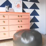 DIY Leather Ottoman & A Giveaway