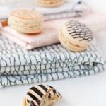 DIY \ Fabric Inspired Printed Macarons