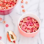 DIY Pink & Red Cheerios