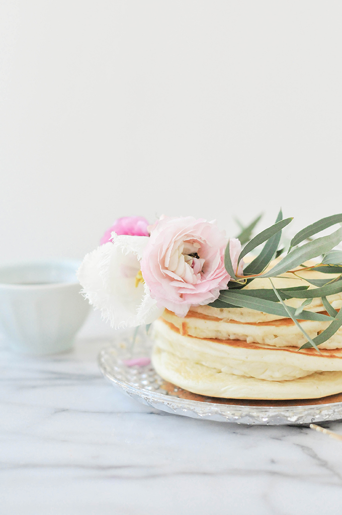 DIY Floral Pancake Wreath
