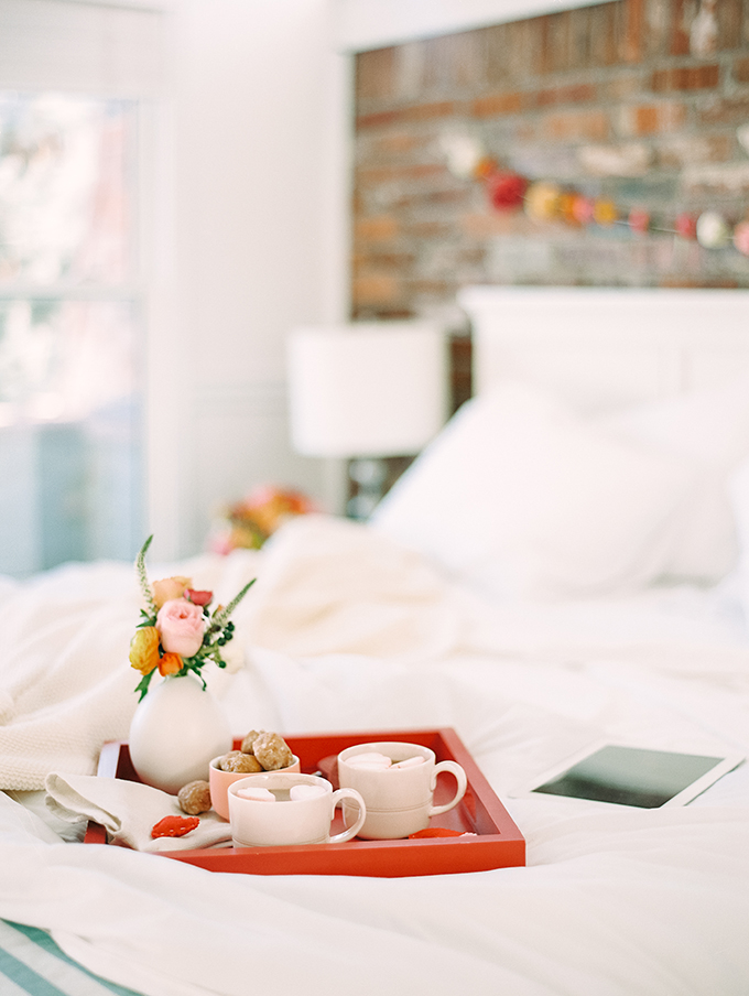 Breakfast In Bed For Valentine's Day