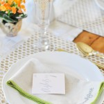 DIY Paint Chip Place Cards For Easter