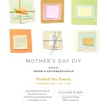 Happy Weekend + A Mother's Day Craft Workshop With Anthropologie