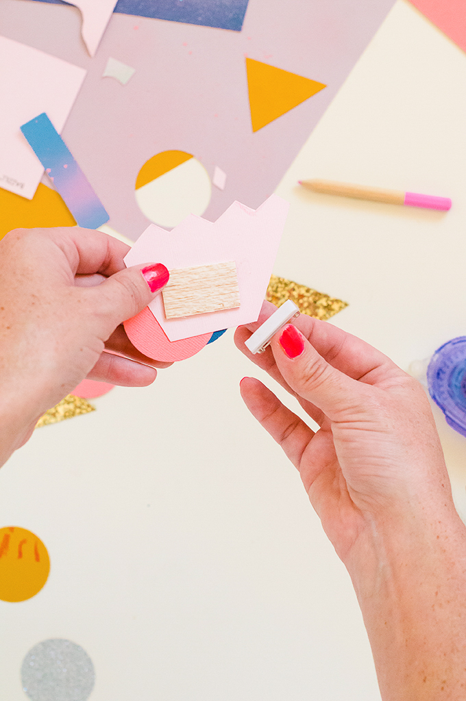 DIY Paper Brooches