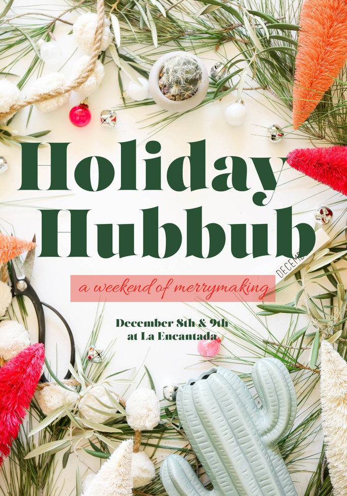holiday hubbub event