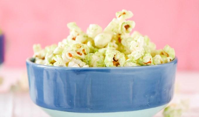#TasteIt \\ Coconut Matcha Popcorn