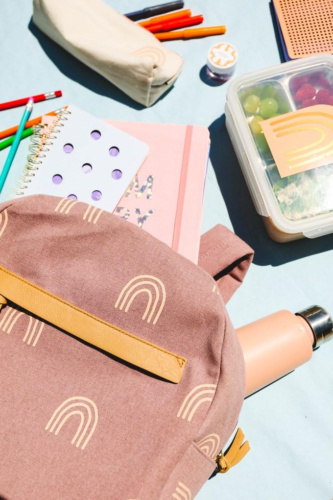 DIY Backpack Makeover