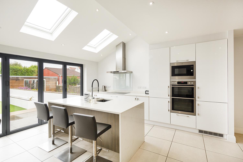 Shot of Kitchen for Ocean Estate Agent Bristol