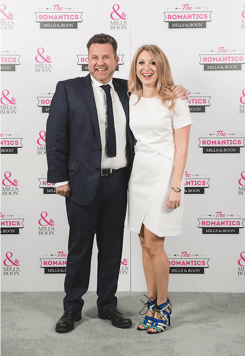 Daisy with James Lord from Quintessentially Weddings