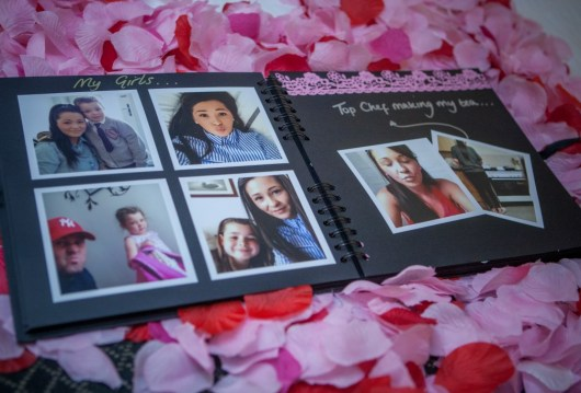 The gorgeous scrapbook