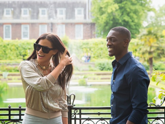 Marriage proposal at The Sunken Gardens at Kensington Palace Gardens planned by The Proposers